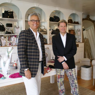 Badgley Mischka Makes a Splash in Newport