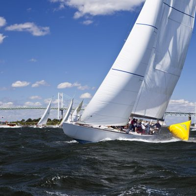 """Watching"" the Classic Yacht Regatta"