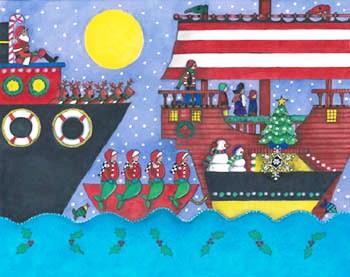 Holiday Harbor Lights Illuminated Boat Parade to Light Up the Night