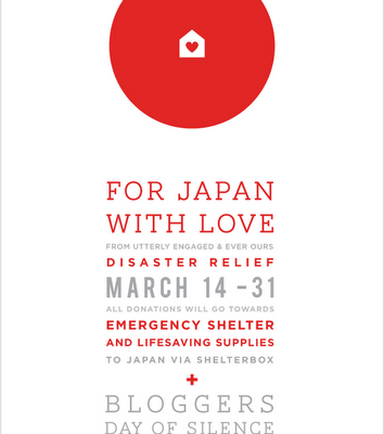 For Japan With Love: Bloggers Day of Silence