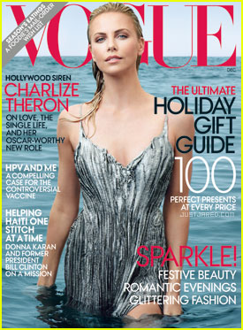 Charlize Theron Getting Glam on Ocean Drive