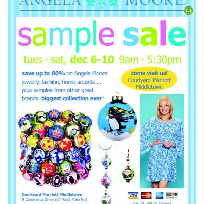 Angela Moore Sample Sale Starts Today: Shop for Everyone, Naughty or Nice
