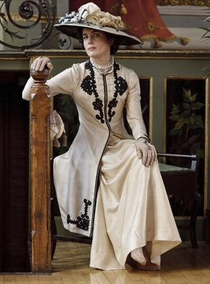 """Is there anything more thrilling than a new frock?"" -Lady Sybil … Downton Abbey Returns"