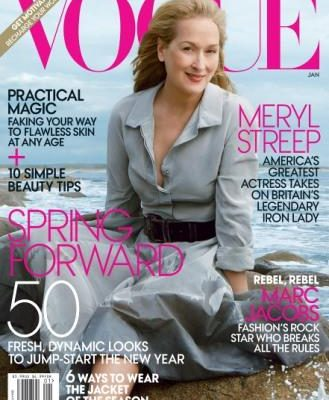 Meryl Streep Graces the Cover of Vogue, Image Shot by the Legendary Annie Leibovitz in Rhode Island