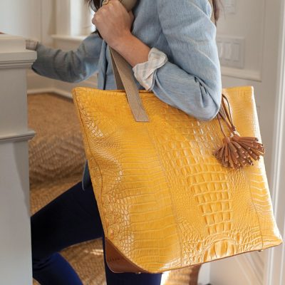 The Brahmin Frankie Tote: Functional & Fabulous