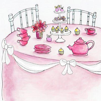 Pinkies Up! Tea Time for Ladies (and 'Lil Ladies)