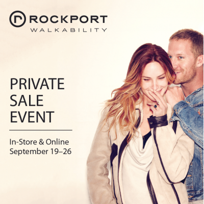 Rockport Friends and Family Sale Starts Today!
