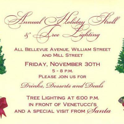 TONIGHT! Bellevue Avenue Holiday Stroll
