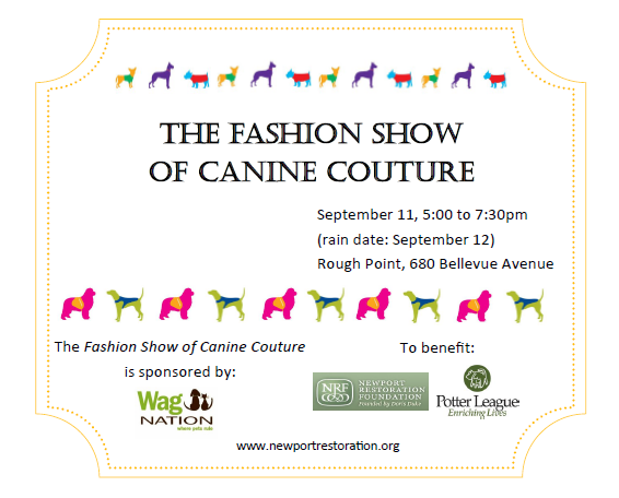 fashion-show-of-canine-couture-postcard-side-1